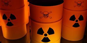 Bild: Behälter für Atommüll