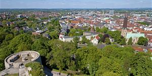 Bild: Bielefeld von oben