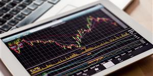 Bild: Börsenkurs auf dem Tablet