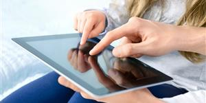 Bild: Entertainment mit Tablet-PC