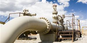 Bild: Erdgasförderung