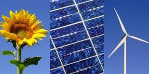 Bild: Erneuerbare Energiequellen