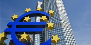 Bild: Eurozeichen vor EZB