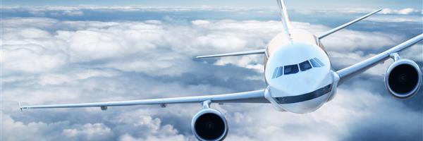 Bild: Flugzeug in der Luft