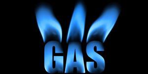 Bild: Gas-Schriftzug