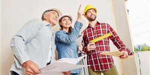 Bild: Haus umbauen mit Plan