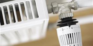 Bild: Heizung mit Thermostat