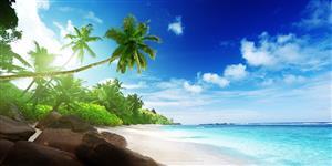 Entspannt am Sandstrand