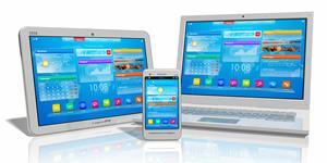 Bild: Laptop, Tablet, Smartphone