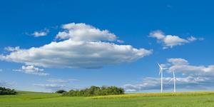 Bild: Mehrere Windräder