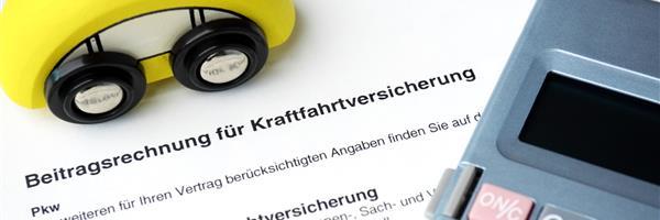 Bild: Rechnung KFZ-Versicherung