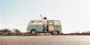 Bild: Roadtrip mit VW-Bus