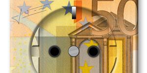 Bild: Stecker mit Geld