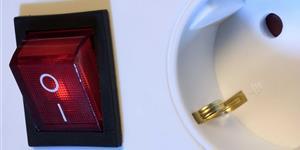 Bild: Steckerleiste mit Schalter
