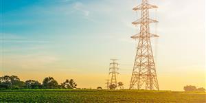Bild: Strommast auf dem Land
