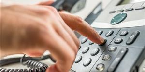 Bild: Telefonanruf tätigen