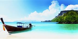 Bild: Thailand, Boot