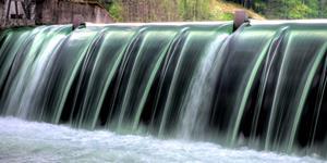 Bild: Wasserkraftwerk
