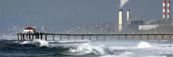 Bild: Wellenkraftwerk