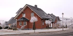 Bild: Winterliches Haus