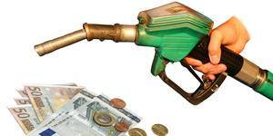 Bild: Zapfhahn, Euroscheine und Münzgeld