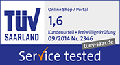 Service tested 1,6