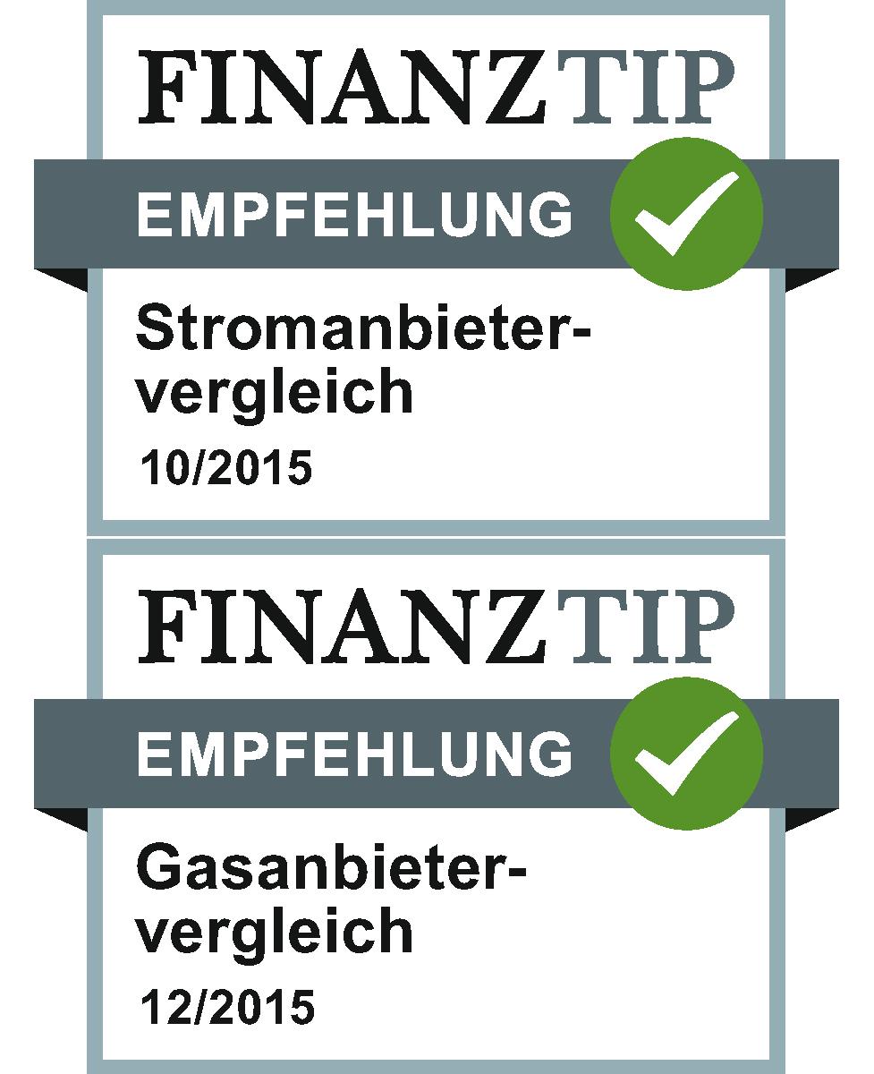 Strom und Gas Zertifikat Siegel
