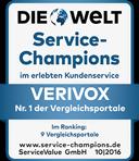 Welt Service Champion 2016
