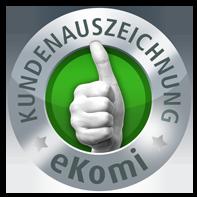 Ekomi Kundenauszeichnungs Siegel