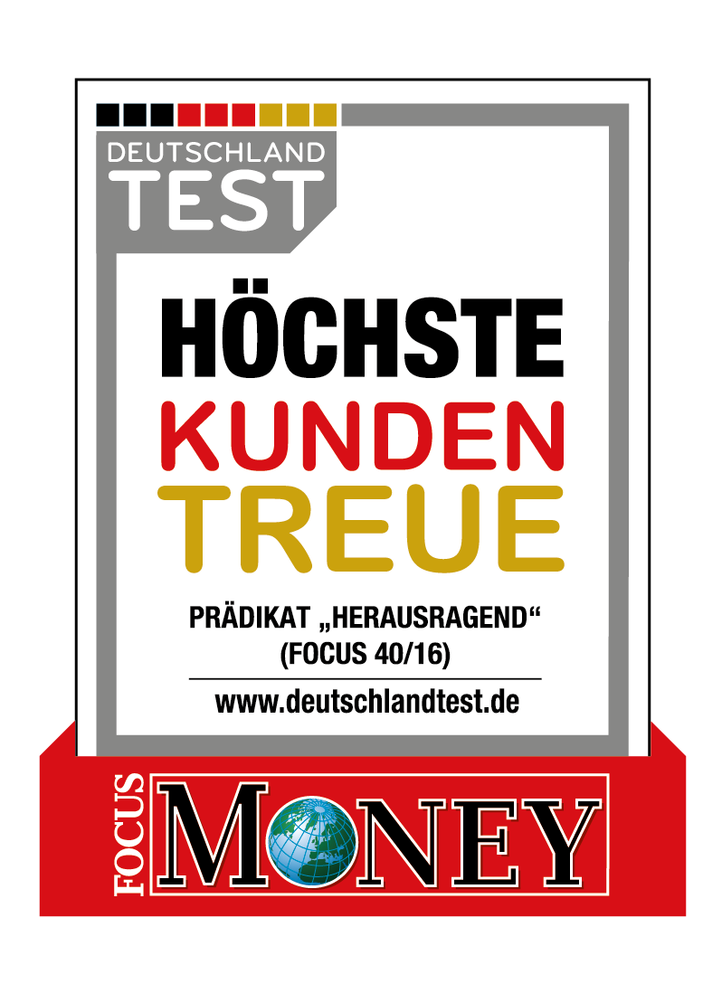 Money Kunden Treue Siegel