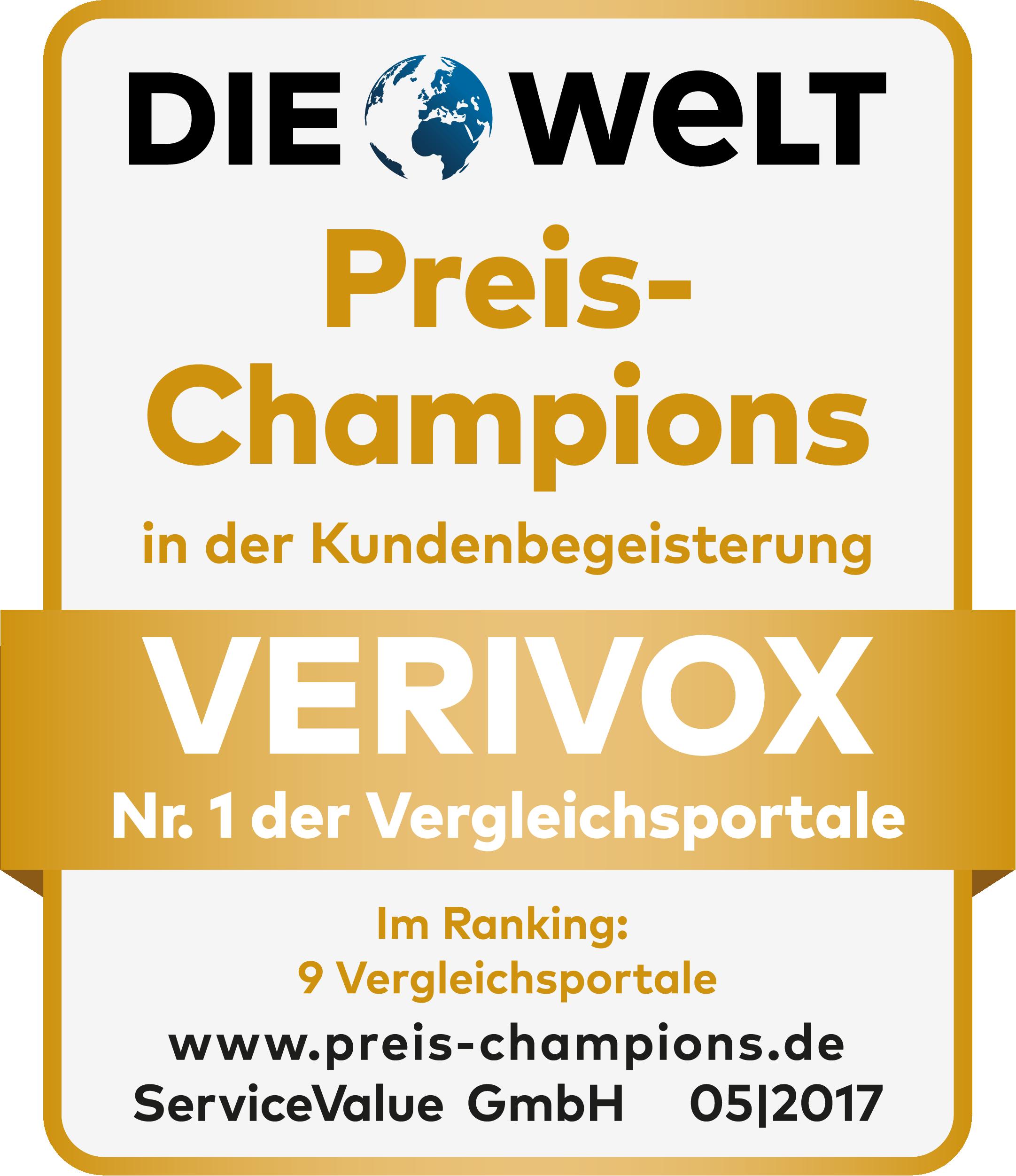 DIE WELT Preis-Champion