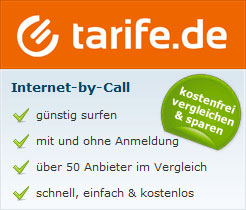 Internet by Call Tarife